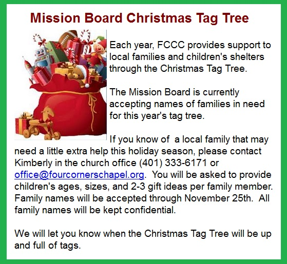 please purchase and return the unwrapped gift to the chapel by december 9th thank you for helping to make a childs christmas brighter this year